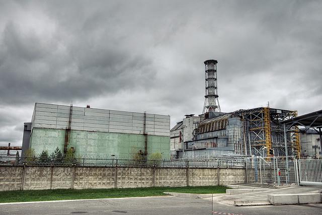 Tchernobyl et son sarcophage tristement célèbre