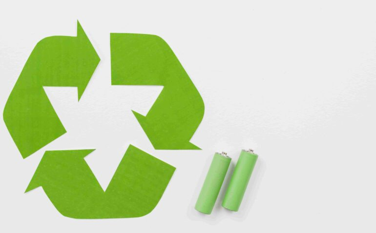 recyclage des piles en entreprise